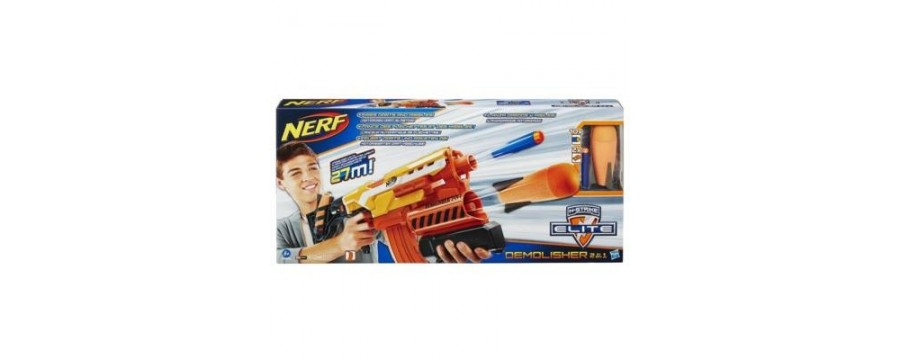 Jugutes de acción, pistolas, Nerf.. Jugueteria online